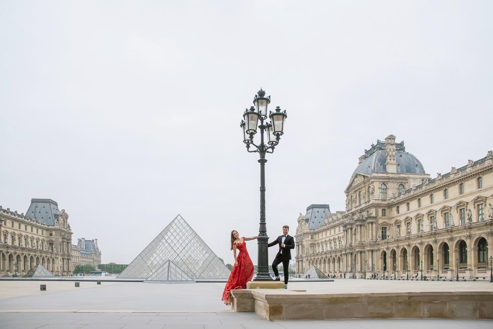 Winter wedding photoshoot in Paris by Pierre 32