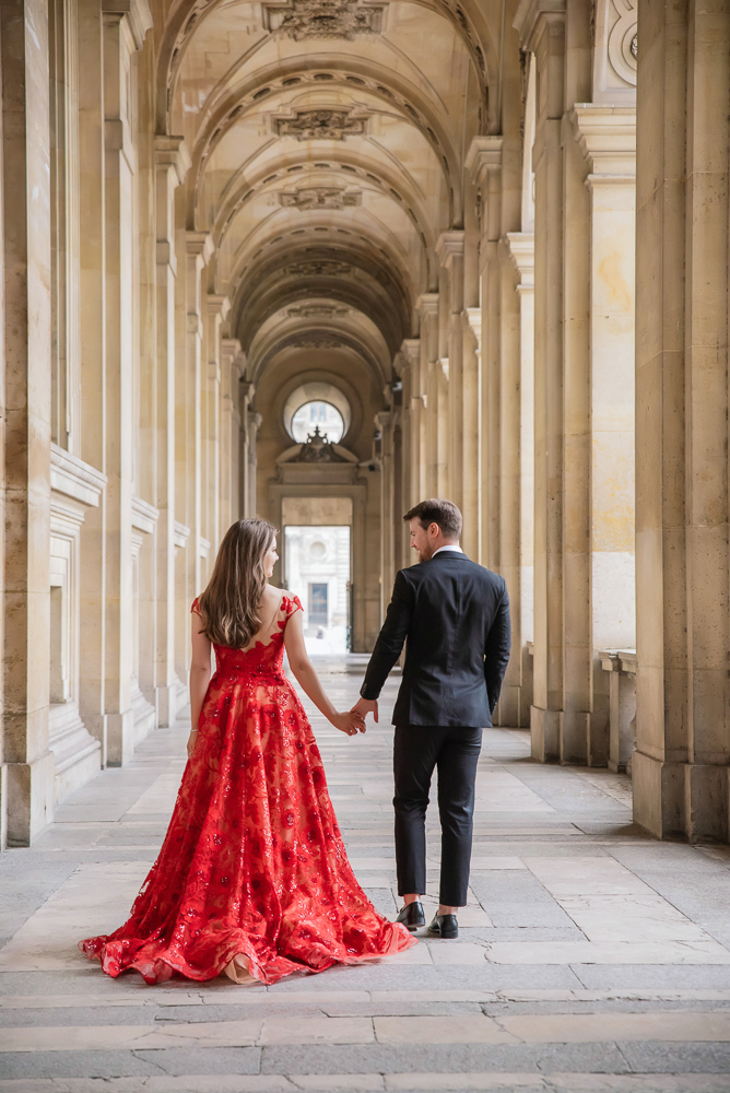 Winter wedding photoshoot in Paris by Pierre 38
