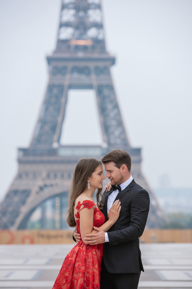 Winter wedding photoshoot in Paris by Pierre 6