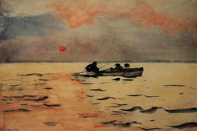 800px-Winslow_Homer_Rowing_Home