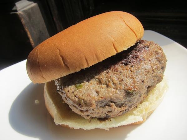 A modern rendering of Hemingway's burger