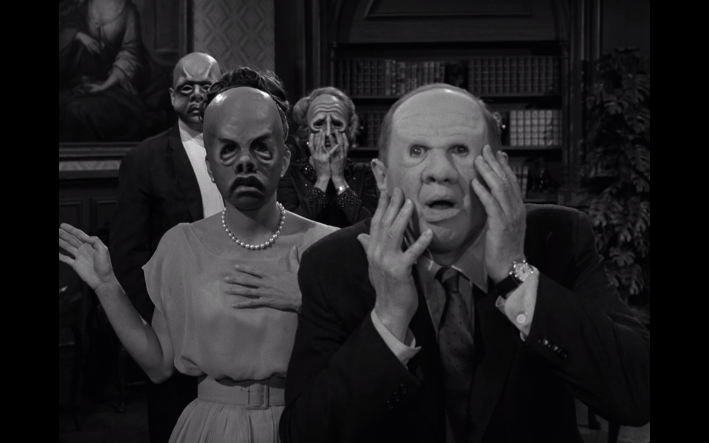 Image result for twilight zone the masks