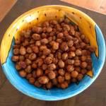 Smokey Paprika Baked Chick Peas