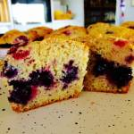 Berry Yoghurt Muffins