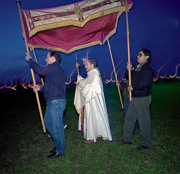 z.Priest Under Tent