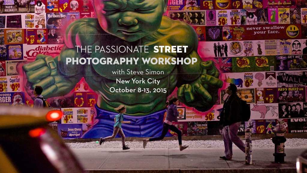 Inside The Ropes: Street Photography Workshop NYC October 8-13, 2015