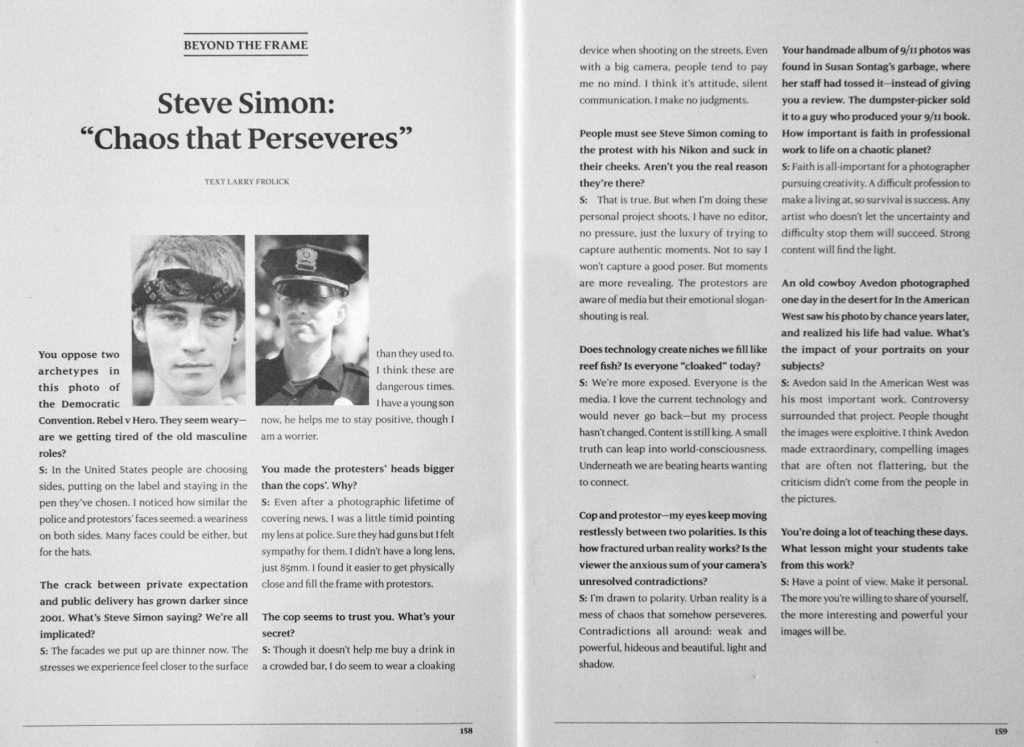 Steve Simon-Chaos That Perseveres