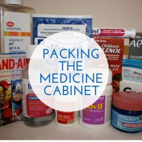 PACKING THE MEDICINE CABINET