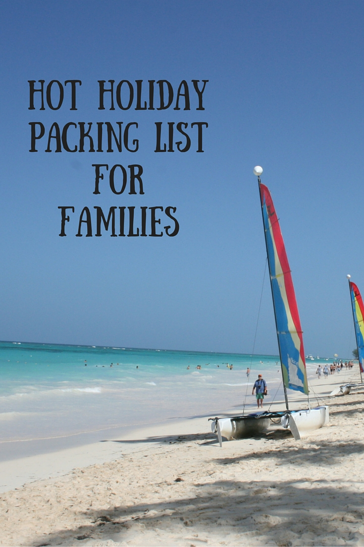 Hot Holiday Packing List for Families