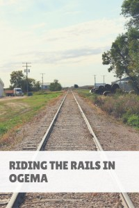 Riding the Rails in Ogema