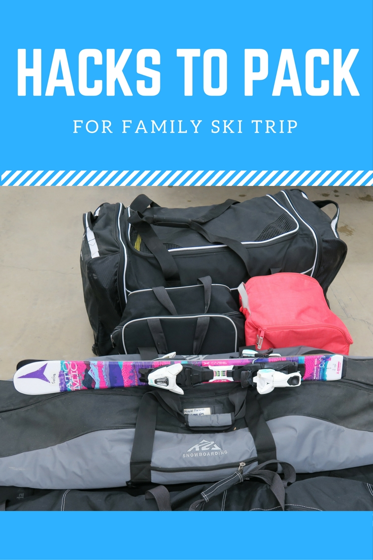 Hacks to Pack for Family Ski Trip