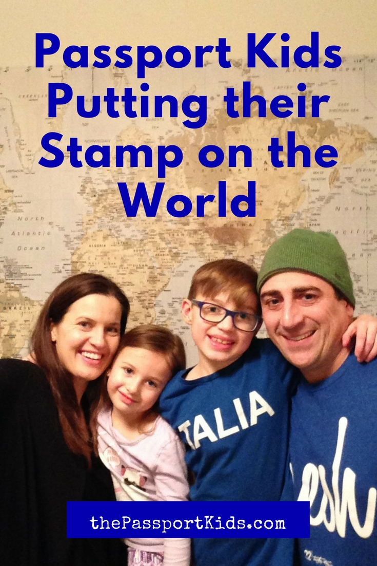 Passport Kids Putting their Stamp on the World