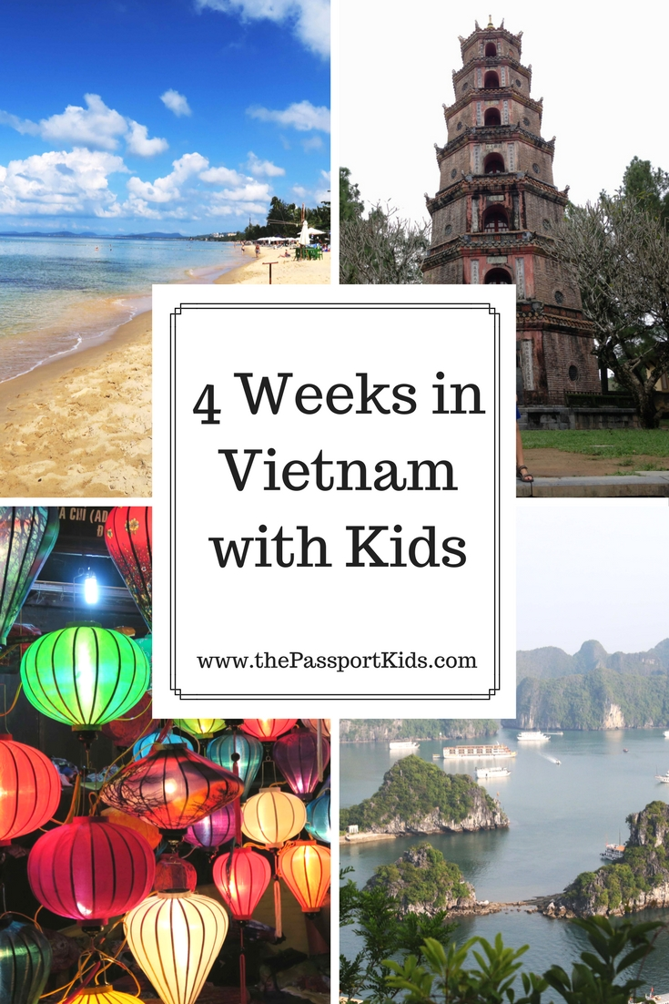 4 Weeks in Vietnam with Kids