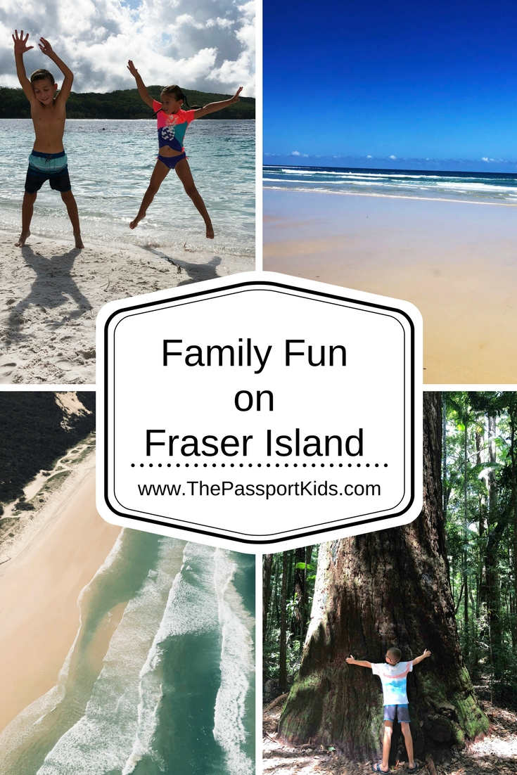 Family Fun on Fraser Island