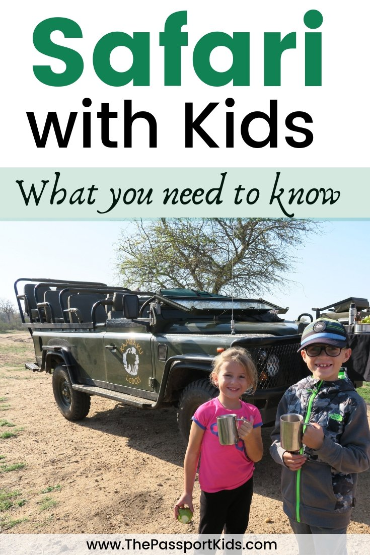 Safari with Kids: Things I Wish I Knew Before