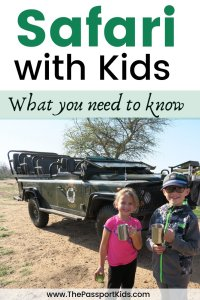 Safari with Kids - What you need to know before you go on African Safari with kids! All the questions and answers about taking a safari with children from choosing a safari, lodging, cost, safety, minimum age restrictions, difference in safaris, and best time to go to Kruger National Park in South Africa, and more. All the things I wish I knew before planning an African safari to make it the best family experience with your children. #safariwithkids #safari #southafrica #familysafari #big5