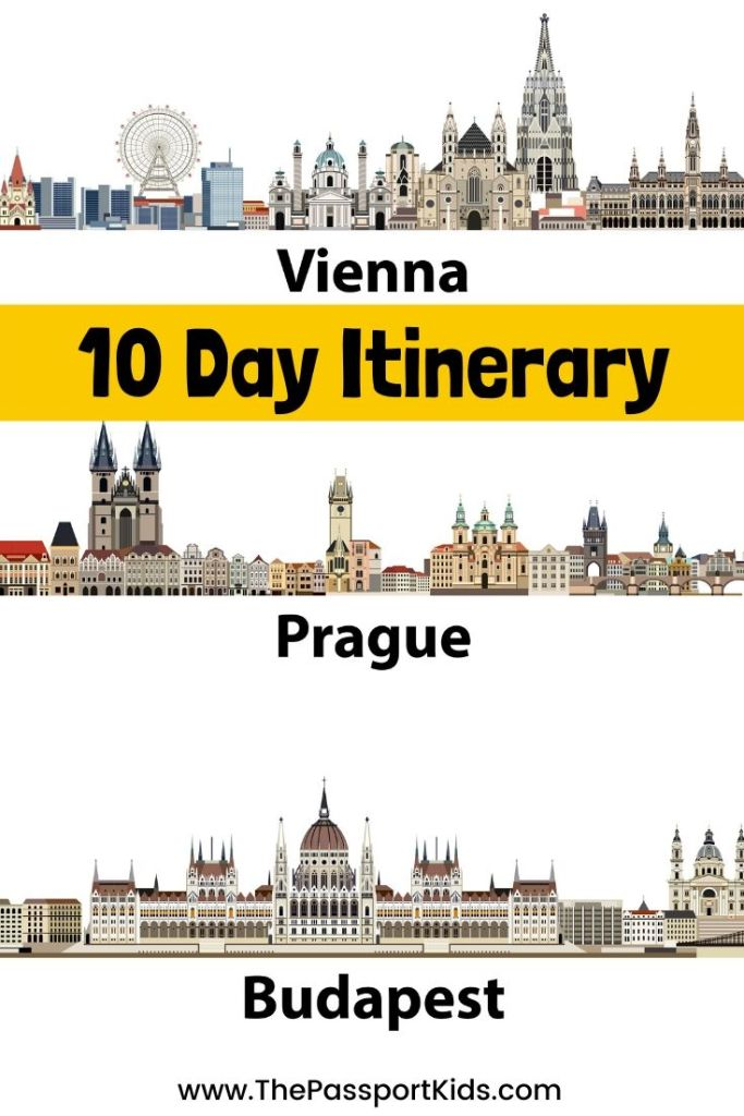 Prague, Vienna, Budapest Itinerary: 10 Days in Central Europe - The Passport Kids Adventure Family Travel
