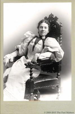 Carolyn Belle Bryant in May 1895