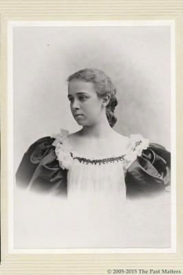 Jessie F. Norman in May 1895
