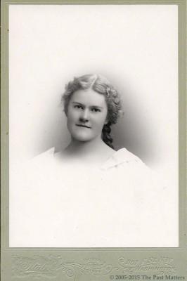 Miss Ella in May 1895
