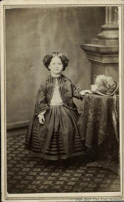 Cora B. Volland about 1863