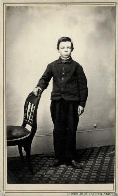 Willis F. Thompson about 1862