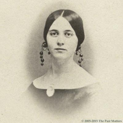 Hannah M. Torrey about 1864