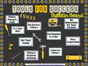 Tools for Success Bulletin Board