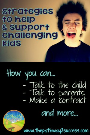 Supporting Challenging Kids