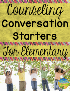 Counseling Conversation Starters