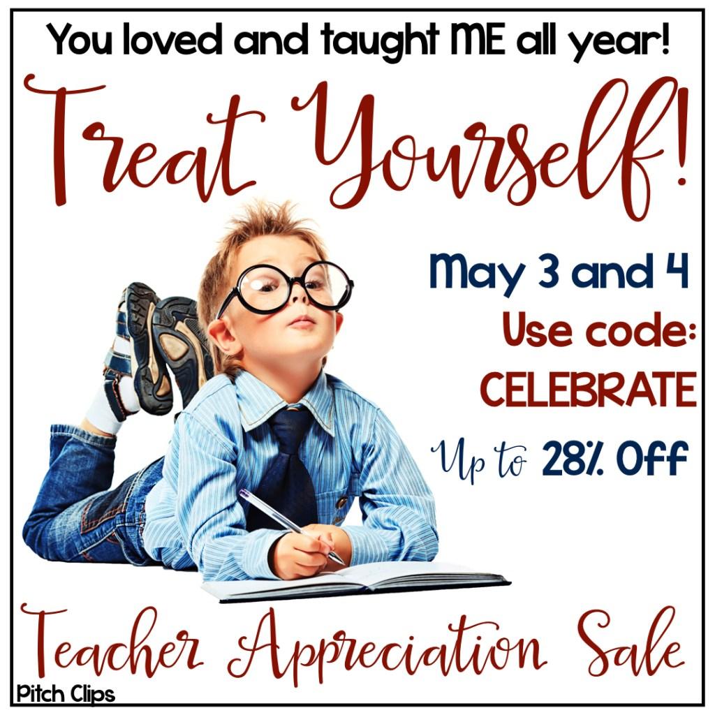 TpT Teacher Appreciation Sale