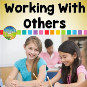 Free working with others workbook and more to help kids and young adults with social emotional learning skills. #sel #socialemotionallearning #pathway2success