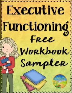 Executive Functioning Free Workbook Sampler