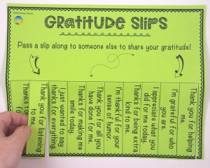 Free gratitude poster and more to help kids and young adults with social emotional learning skills. #sel #socialemotionallearning #pathway2success