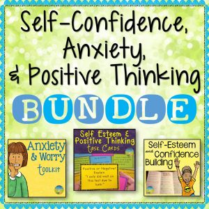Self Confidence Anxiety Positive Thinking Bundle