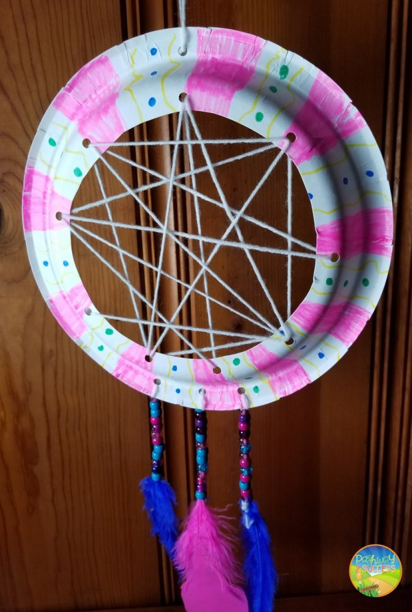 Art Therapy Activities - Worry Catcher