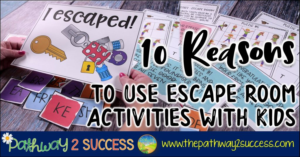 10 Reasons to Use Escape Room Activities with Kids