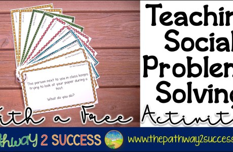 Teaching Social Problem-Solving with a Free Activity