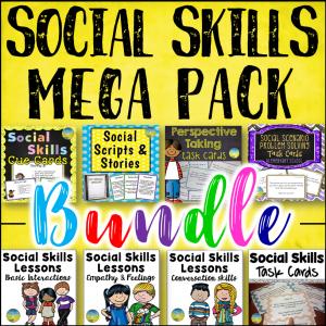 Social Skills Bundle for Younger Kids