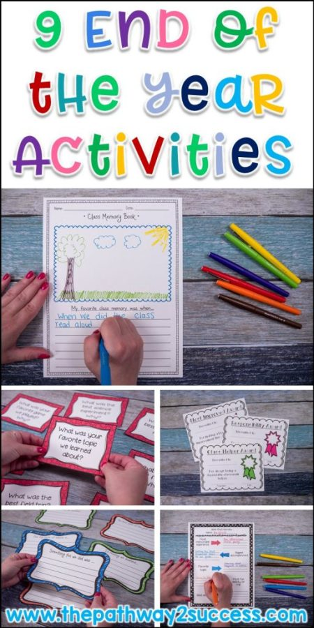 LOVE these end of the year activities, reflections, bulletin boards, and ideas for teachers to try in the classroom! This blog post includes ideas you can implement right away and some freebies!
