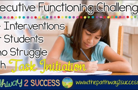 Interventions for Executive Functioning Challenges: Task Initiation