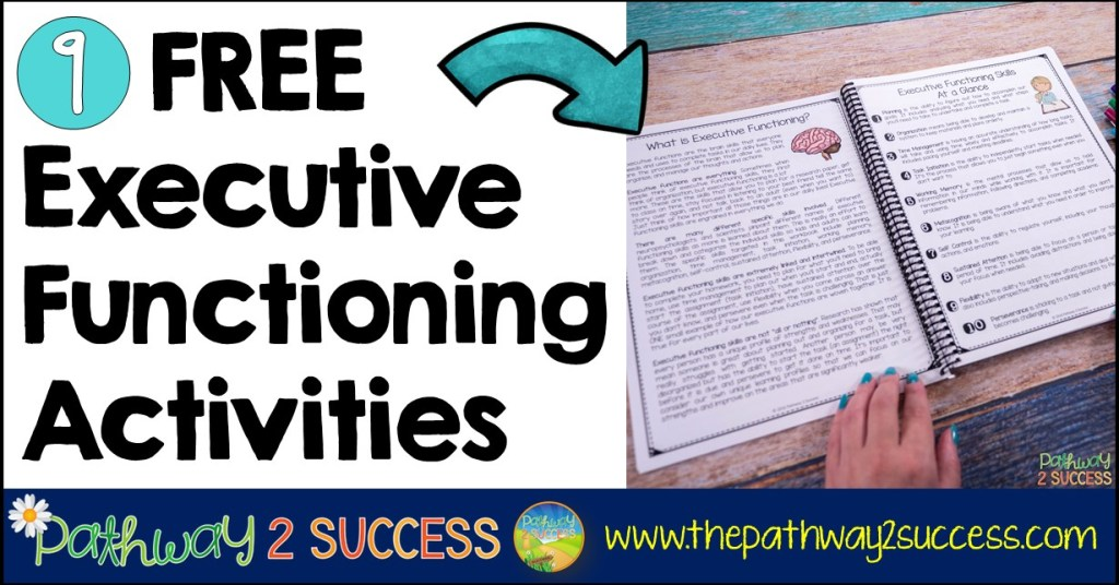 9 FREE Executive Functioning Activities