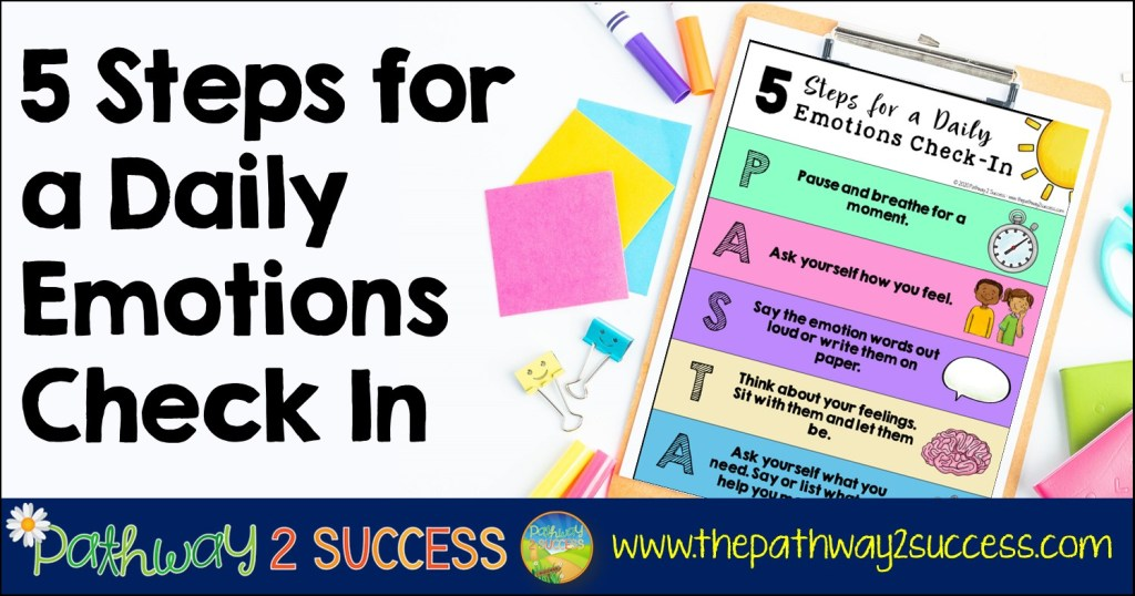 5 Steps for a Daily Emotions Check In