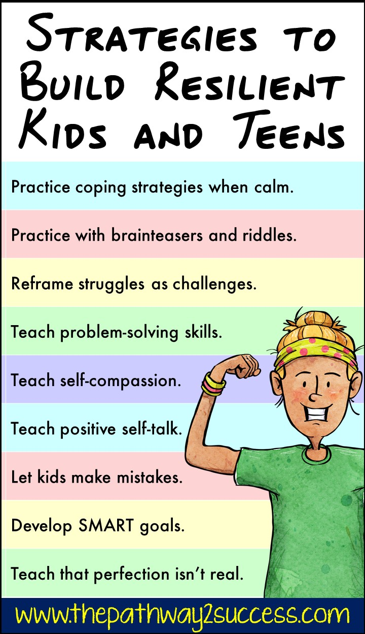 Strategies to Build Resilient Kids and Teens