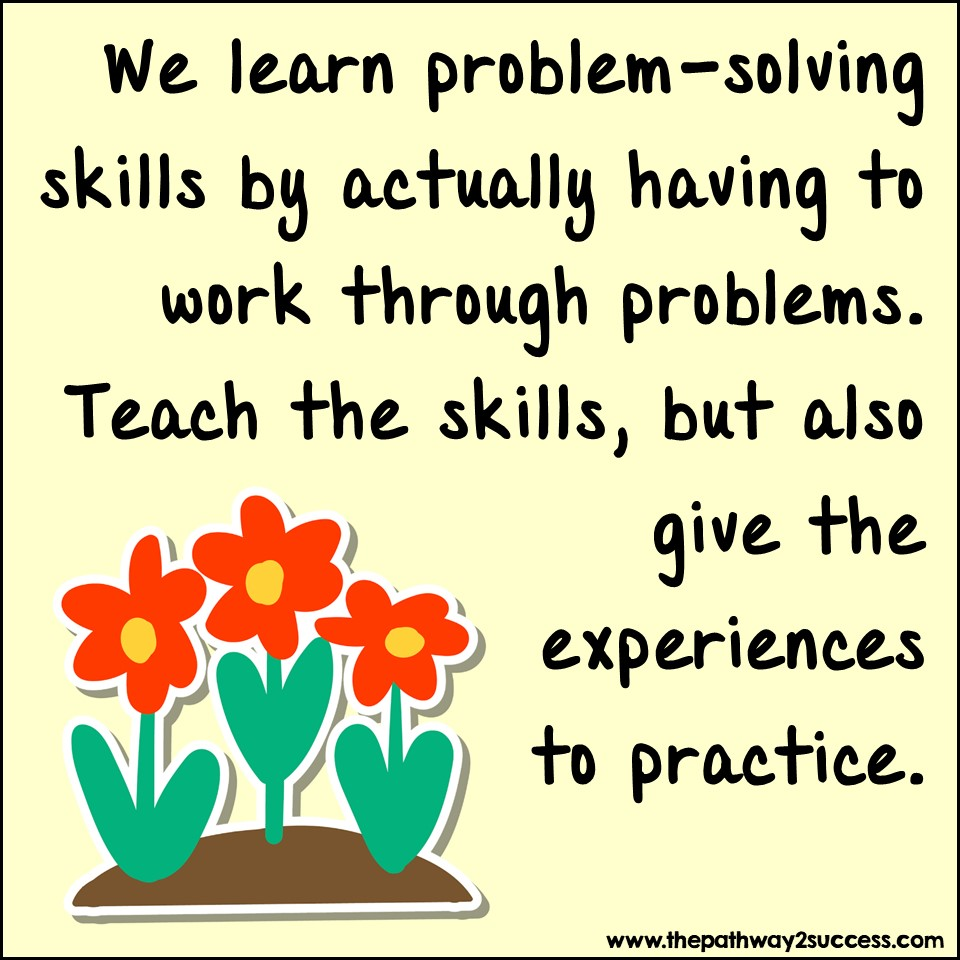 Problem-solving for resilience.