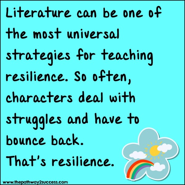 Use literature to build resilience