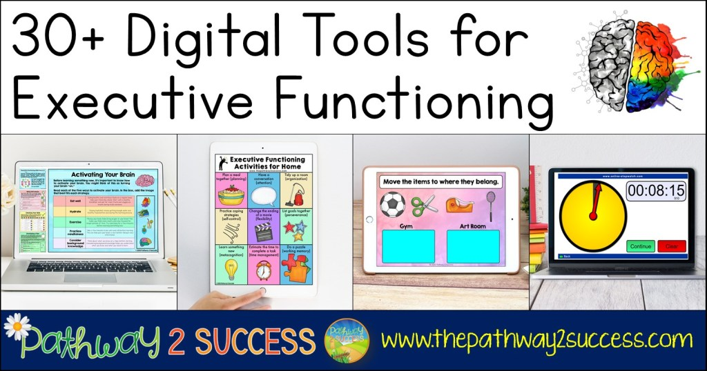 Digital tools for executive functioning