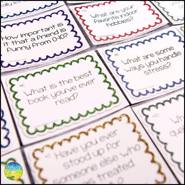Free conversation starter cards
