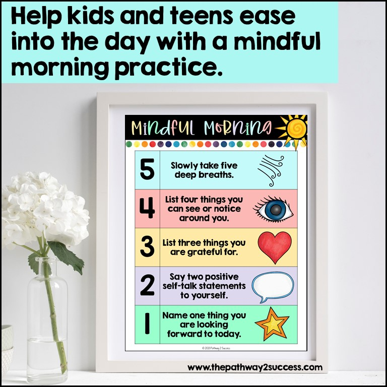 Mindful morning practice