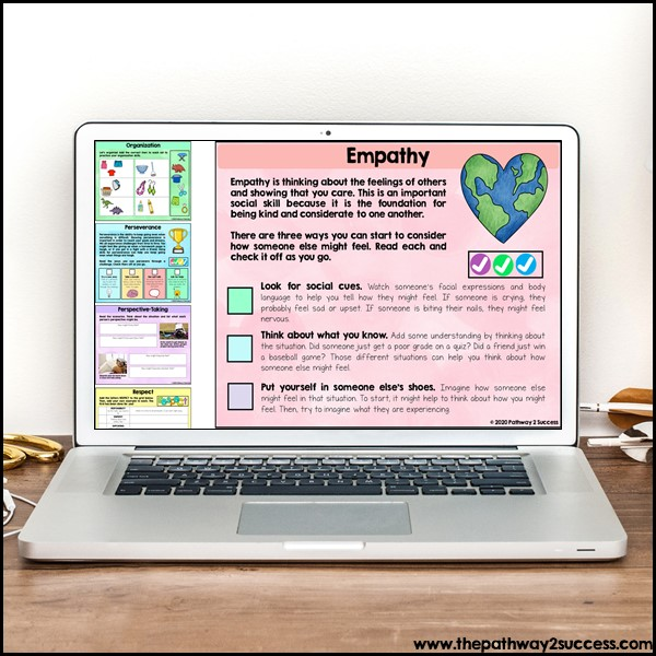 Social emotional learning digital workbook